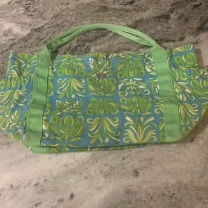 Lilly Pultizer lge tote bag